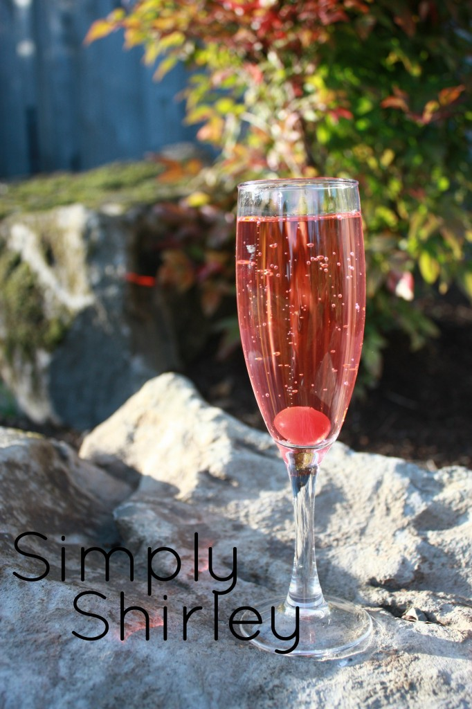 Simply Shirley Temple Mocktail