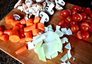 Cut Vegetables