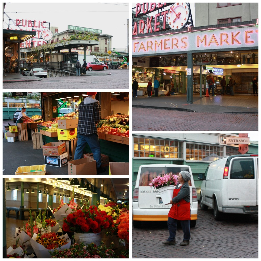 Flowers, Farmers' Markets, Pike Place, produce
