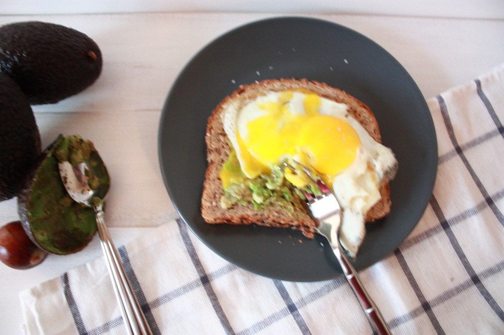 Avocado on Toast with Fried Egg