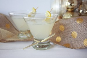 Limoncello and Lemon Sparklers