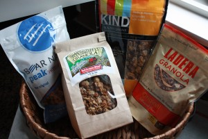 Sotre-bought granola brands