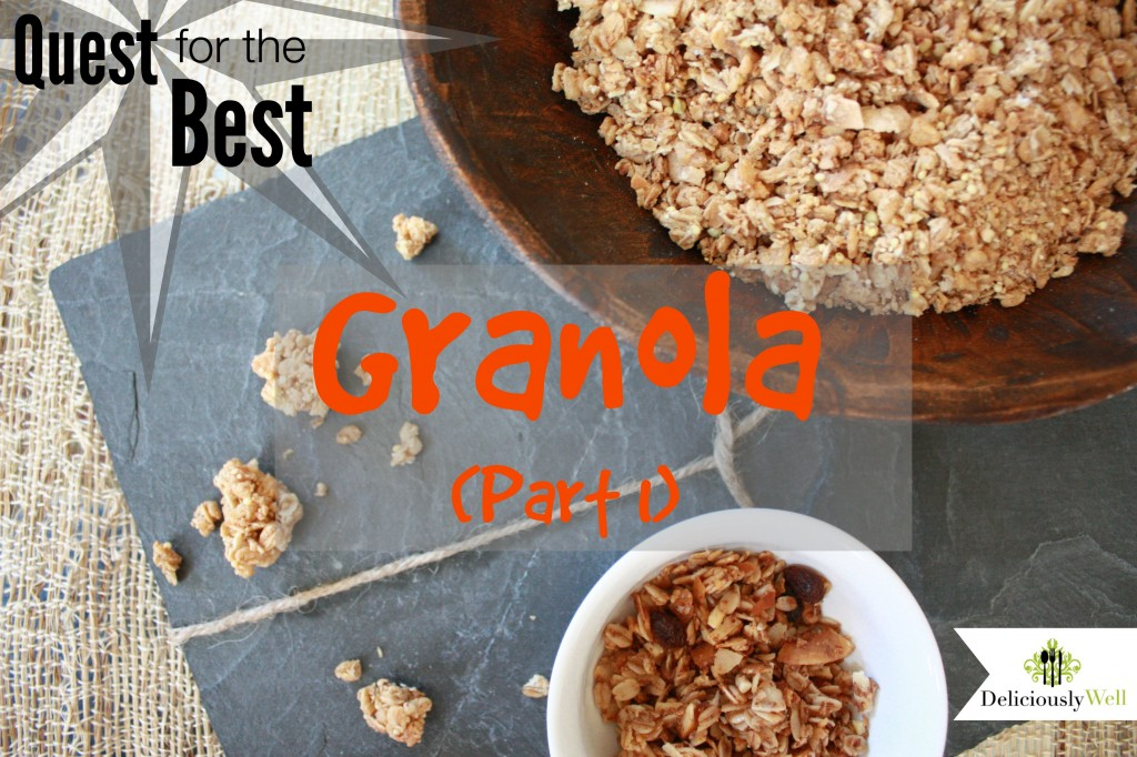 Quest for the Best: Granola (part 1 - store bought)