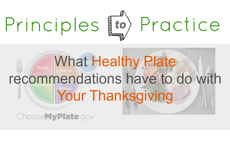 Principles to Practice - thanksgiving slider